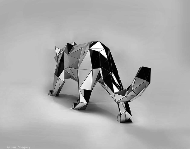 lobo espelhado