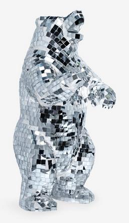 urso de espelho