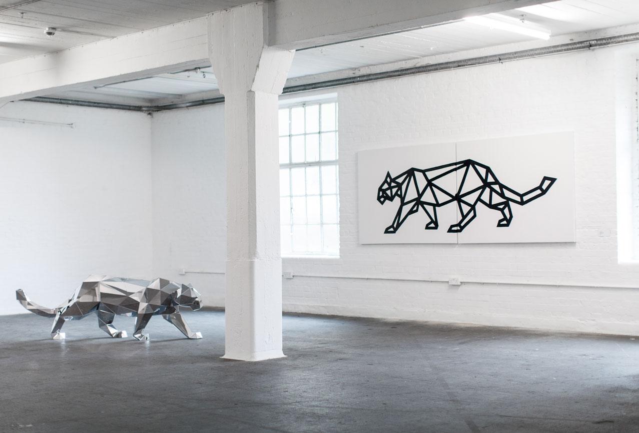 exposição de wolf em Lomdres