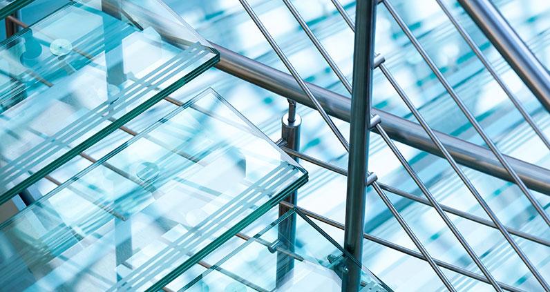 vidro laminado na decoração