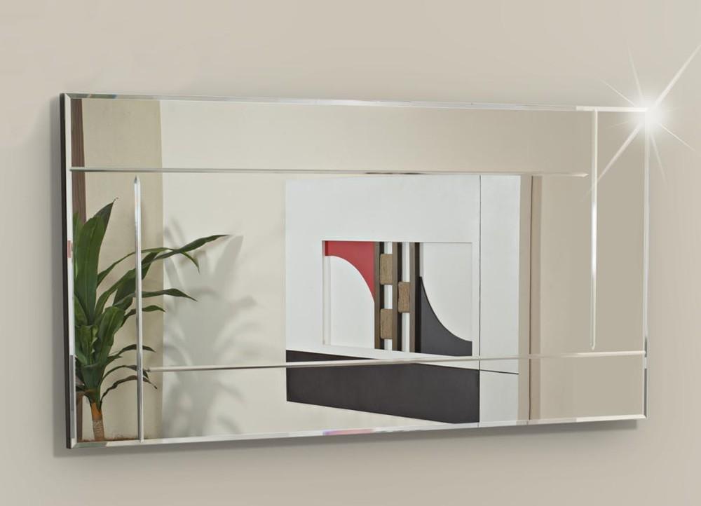 Espelhos, Espelho de Parede com bisotê