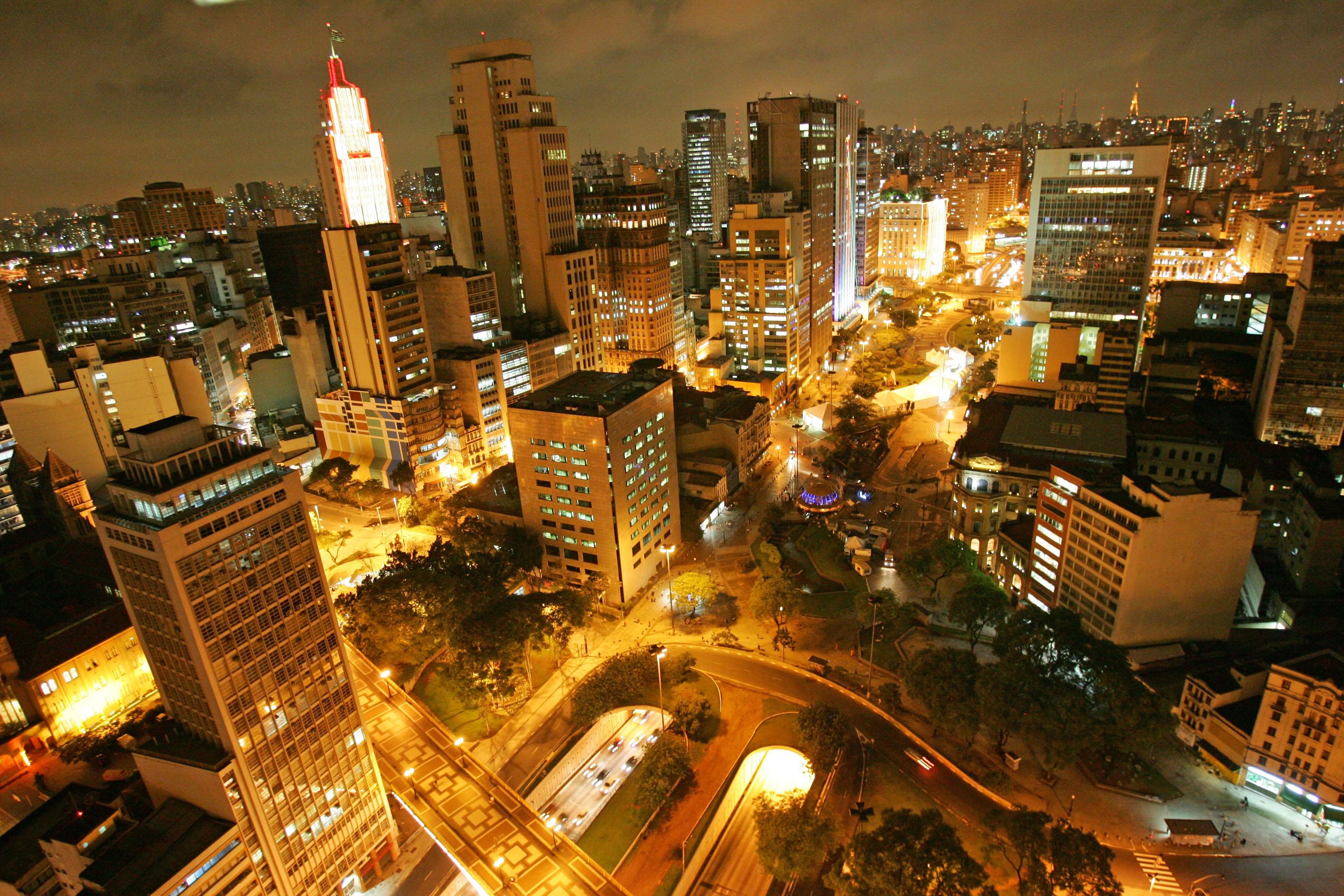 Centro da cidade de São Paulo