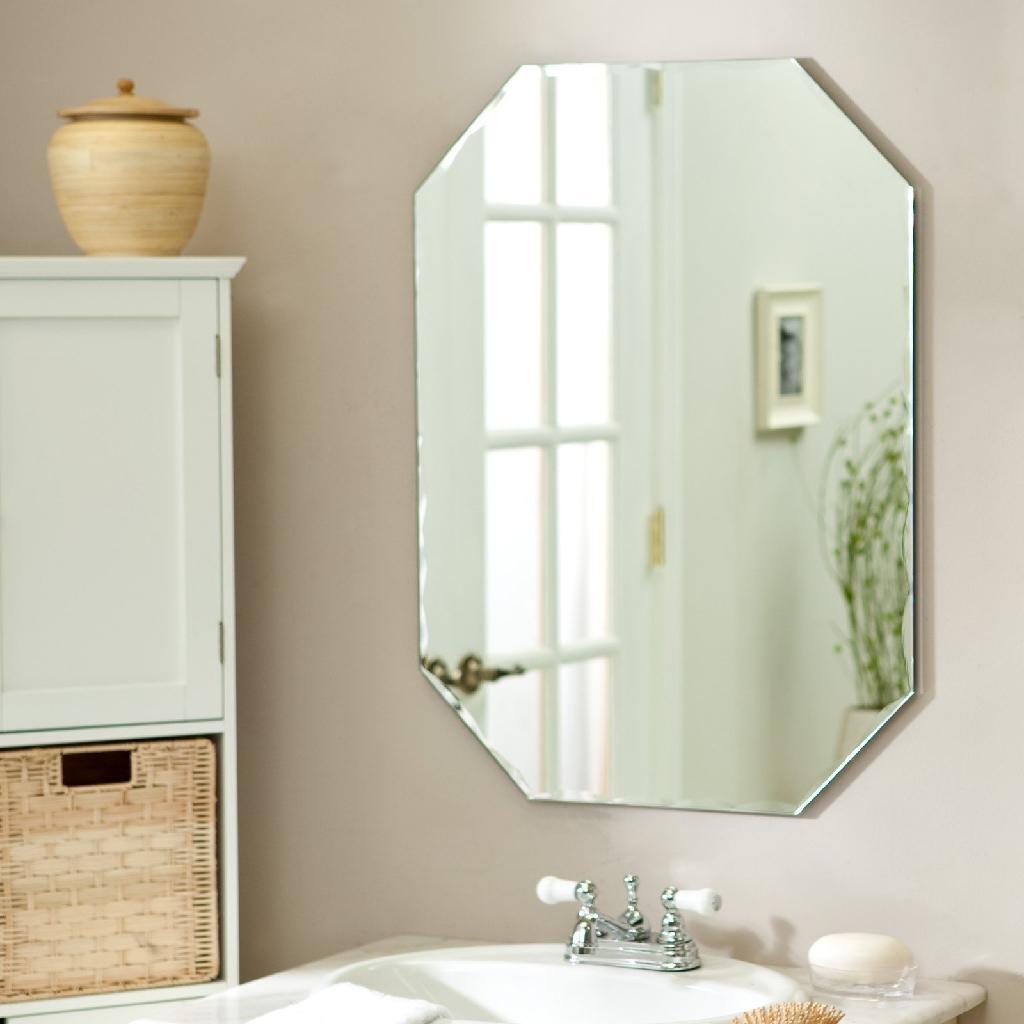 Espelho De Banheiro Grande Ps Do Vidro