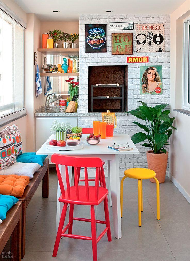 Decoração de cozinhas pequenas - Use cores claras